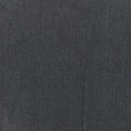 ♥ Coupon 140 cm X 140 cm ♥ Tissu Jeans uni - gris