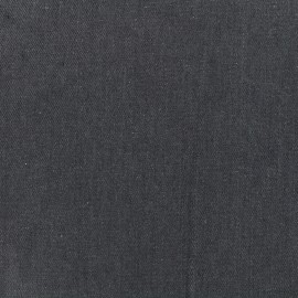 Plain jeans fabric - grey x 10cm