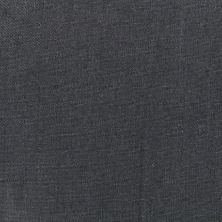 Plain jeans fabric - grey x 10cm