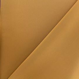 Tissu Lycra épais Fuji - ocre x 10cm