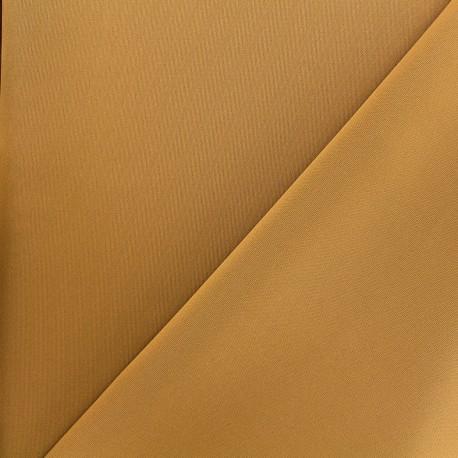 Thick lycra fabric Fuji - ochre x 10cm