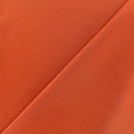 Thick lycra fabric Fuji - orange x 10cm
