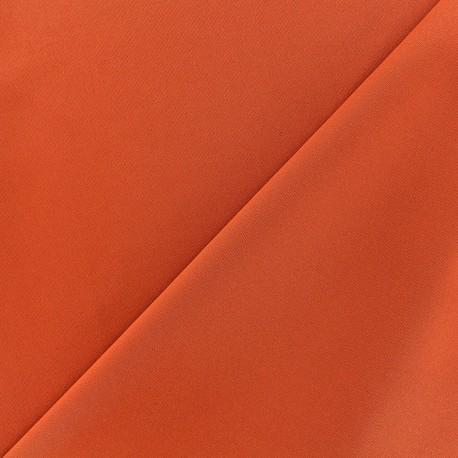 Thick lycra fabric Fuji - orange x 10cm