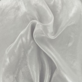Iridescent satin lining fabric - ecru x 10cm