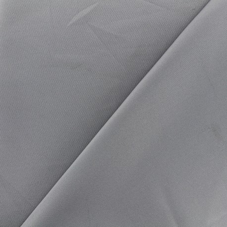 Tissu Lycra épais Fuji - gris x 10cm