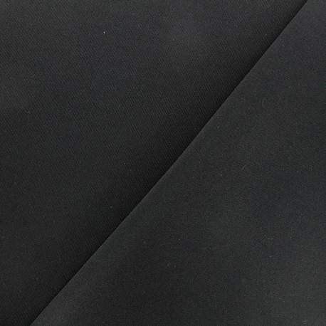 Thick lycra fabric Fuji - black x 10cm