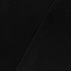 Milleraies velvet fabric - black 200gr/ml x10cm