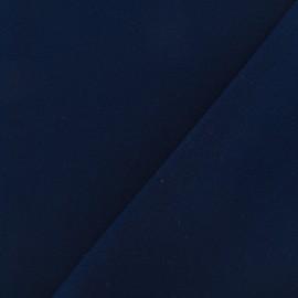 Tissu crêpe lourd Mirla - bleu marine x 10cm