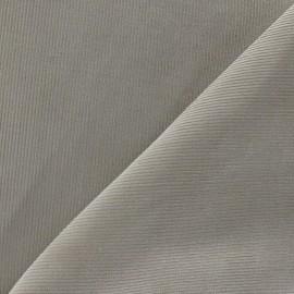Fabric velours milleraies 200gr/ml beige x10cm