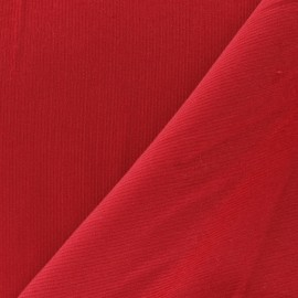 Milleraies velvet fabric - red 200gr/ml x10cm