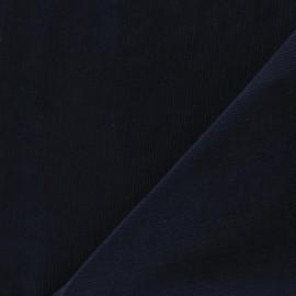 Tissu velours milleraies 200gr/ml marine