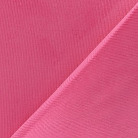 Tissu velours milleraies 200gr/ml rose