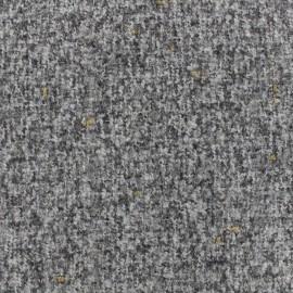 Tweed fabric Opéra - grey x 10cm