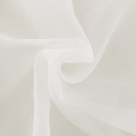 Tissu Organza Méditerranée Maison Thevenon - ivoire x 10cm