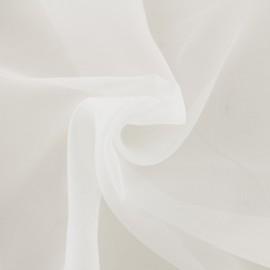 Tissu Organza Méditerranée Voilage grande largeur - ivoire x 10cm
