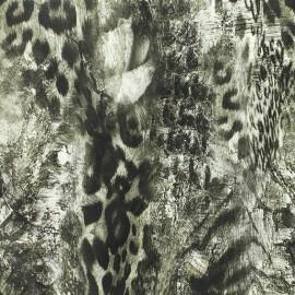 Simili cuir souple Animal skin - gris x 10cm