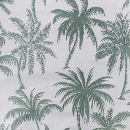 Jacquard Canvas Fabric Palmera - almond x 25cm