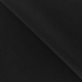 Crepe fabric - Black x 10cm