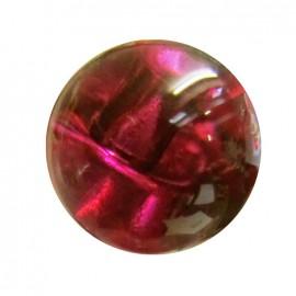 Bouton goutte d'eau 11 mm - rouge