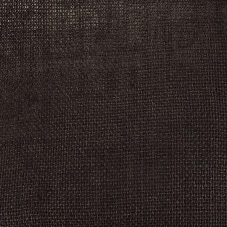 Toile de Jute Colors - chocolat x 10cm