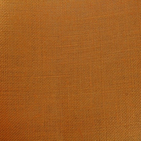 Colors Burlap canvas fabric - apricot juice x 10cm