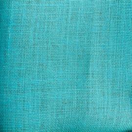 Toile de Jute Colors - azur x 10cm