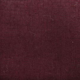 Toile de Jute Colors - sangria x 10cm