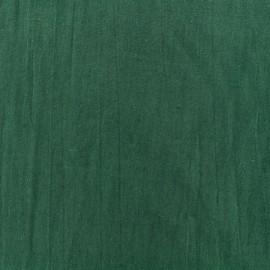Tissu coton Basic - vert sapin x 10cm