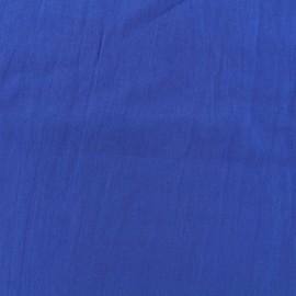 Tissu coton Basic - bleu roy x 10cm