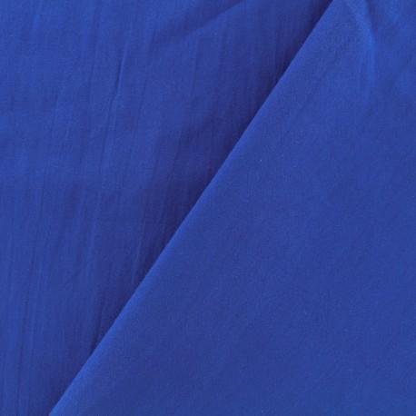 Basic Plain cotton fabric - roy blue x 10cm