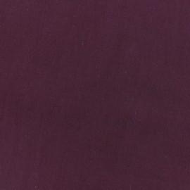 Tissu coton Basic - bordeaux x 10cm