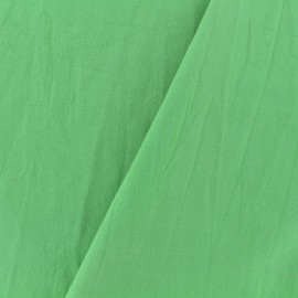 Washed cotton fabric - lime x 10cm