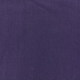 Basic Plain cotton fabric - chocolate x 10cm