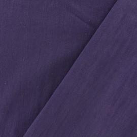 Tissu coton lavé - violette x 10cm