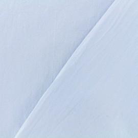 Tissu coton lavé - eau de pluie x 10cm