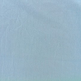 Tissu coton Basic - bleu niagara x 10cm