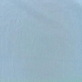Basic Plain cotton fabric - Niagara blue x 10cm