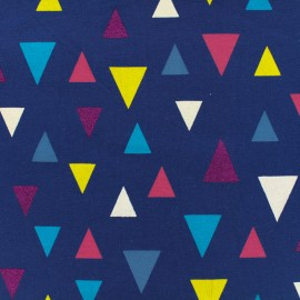 Qjutie kids Sparkles Jersey fabric - triangle x 10cm