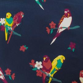 Tissu jersey Qjutie kids Sparkle - oiseau x 10cm