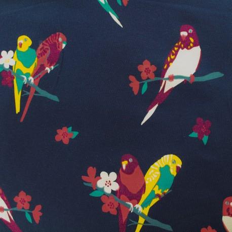 Qjutie kids Sparkles Jersey fabric - bird x 10cm