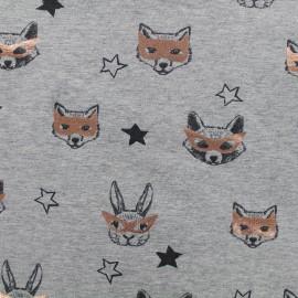 Qjutie kids Copper Jersey fabric - masks x 10cm