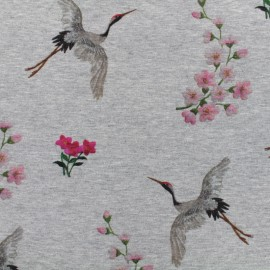 Qjutie kids Garden Sweat fabric - Japan x 10cm