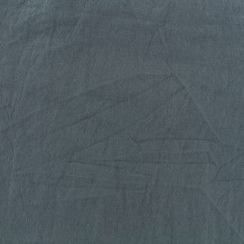 Tissu coton lavé - orage x 10cm
