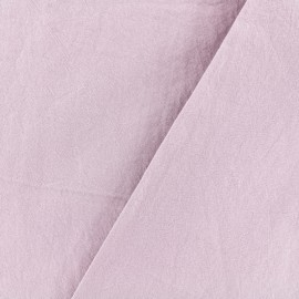 Washed cotton fabric - rose water x 10cm