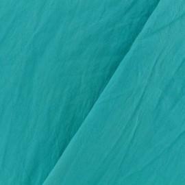 Tissu coton lavé - lagoon x 10cm