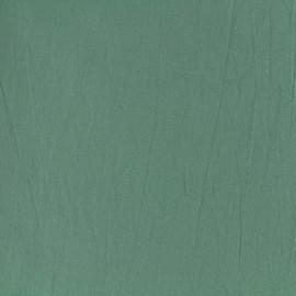 Tissu coton lavé - vert tilleul x 10cm