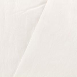 Washed cotton fabric - milk x 10cm