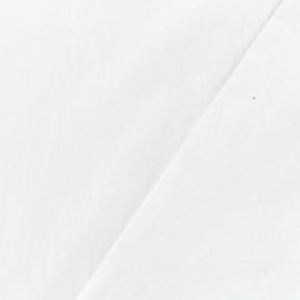 Tissu coton lavé - neige x 10cm