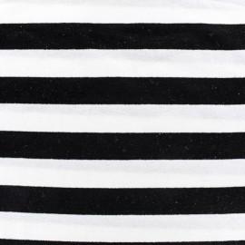 Tissu jersey Alinea L - noir/blanc x 10cm