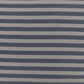 Tissu mode Oeko-Tex Jersey bio Linie - gris/taupe x 10cm